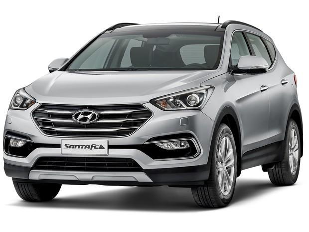 Lan 231 Amento Do Novo Hyundai Santa Fe 2016 No Brasil Novo Carro